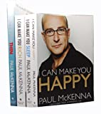 Paul McKenna Paul MecKenna 4 Books Collection set (I Can Make You Thin - Love Food, Lose Weight: New Full Colour Edition (includes free DVD and CD), I Can Make You Happy (Book + CD) , I Can Make You Sleep (Book + CD), I Can Make You Rich,(Book + CD),)