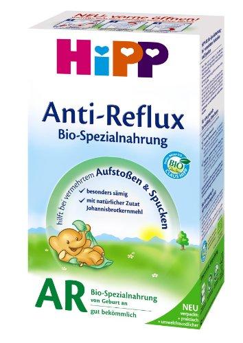 Hipp AR Bio Combiotik latte artificiale anti- reflusso, dalla nascita, 500g X 4 Confezioni - Pacco Convenienza (4 x 500g)