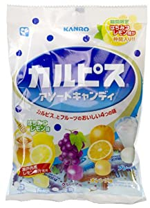 Kanro Calpis Assorted Flavor Candy (Japanese Import) [JU-ICNI]
