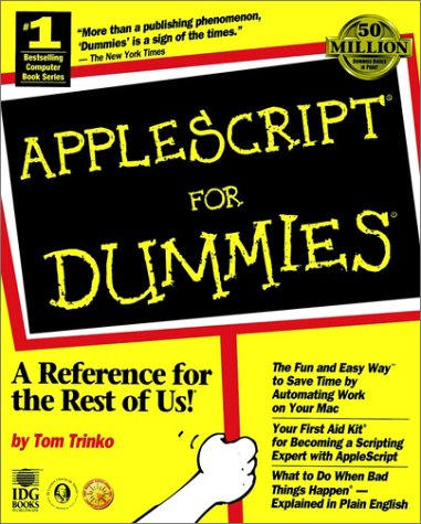 AppleScript® For Dummies®