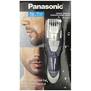 panasonic milano series ergb40s rechargeable beard trimmer wet dry health personal. Black Bedroom Furniture Sets. Home Design Ideas