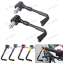 Leebo - Motorcycle hand Protector Guard Brake Clutch Levers Protector biker hand Guard Black For  Bajaj Pulsar 150 DTS-i