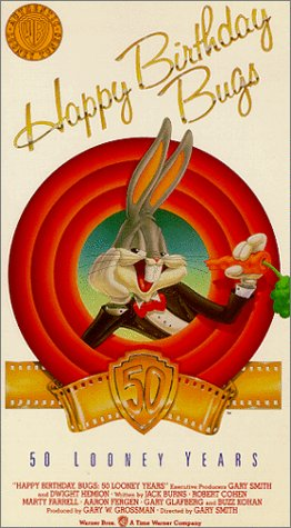 Happy Birthday Bugs: 50 Looney Years [VHS]