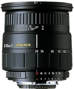 Sigma 28-105mm f/2.8-4.0 Aspherical Lens for Pentax SLR Cameras