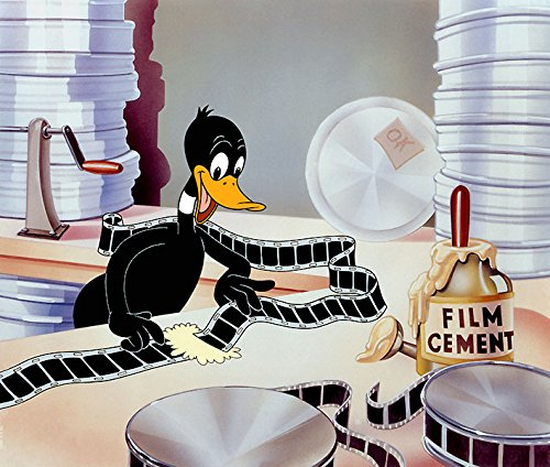 daffy-duck-daffy-film-editor-warner-brothers-fine-art-le-250-10x13-paper-signed-new-giclee