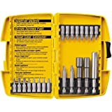 DEWALT DW2161 21-Piece Screwdriving and Nutdriving Set in Plastic Case