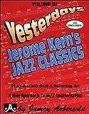 AEBERSOLD 55 CD JEROME KERN'S JAZZ CLASSICS (BROCHE+CD)