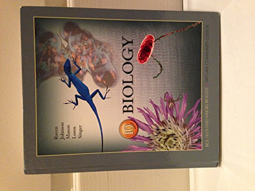Raven and johnson biology 10th edition