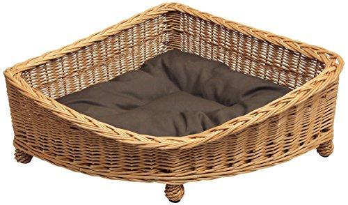 Wicker Willow Pet Corner Basket, S,M,L sizes