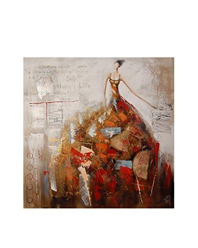 Arte dal Mondo  Pannello Decorativo Edgar Ramirez Donna