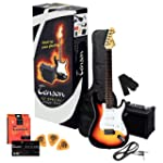 Tenson F502543 E-Gitarre ST Player Pack
