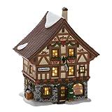 Department 56 Alpine Village Basel Cheese Shop Lit House, 7.91-Inch