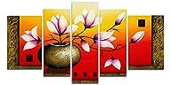 Wieco Art Elegant Flowers 100% hand-p…