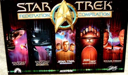 Star Trek Federation Compilation - PC CD-ROM