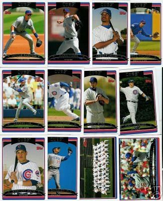 Buy 2006 Topps Chicago Cubs Baseball Cards Complete Team Set (26 cards including Kerry Wood, Mark Prior, Greg Maddux & more)