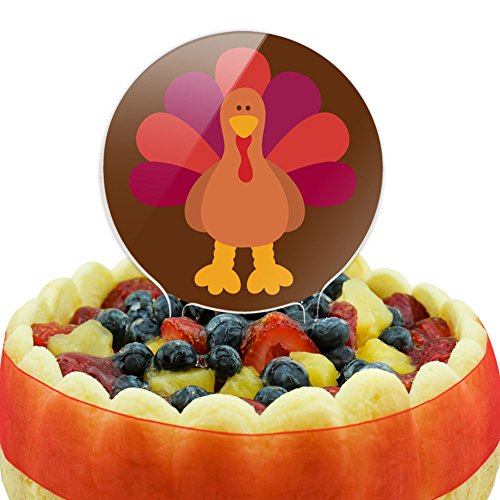 Edible Cake Images Thanksgiving : Thanksgiving Cake Toppers
