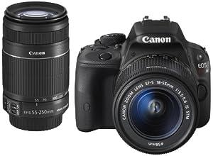 Canon デジタル一眼レフカメラ EOS Kiss X7 ダブルズームキット KISSX7-WKIT