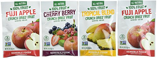 Sensible Foods Crunch Dried Fruit, 20 Count (Fruit Crunch compare prices)