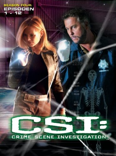 CSI: Crime Scene Investigation - Season 4.1 (3 DVDs)