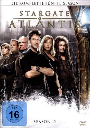 STARGATE ATLANTIS SEASON 5 [IMPORT ALLEMAND] (IMPORT)  (COFFRET DE 5 DVD)