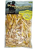 Pride Professional Tee System ProLength Tee, 2-3/4 inch-100 Count Bag (Yellow on Natural)