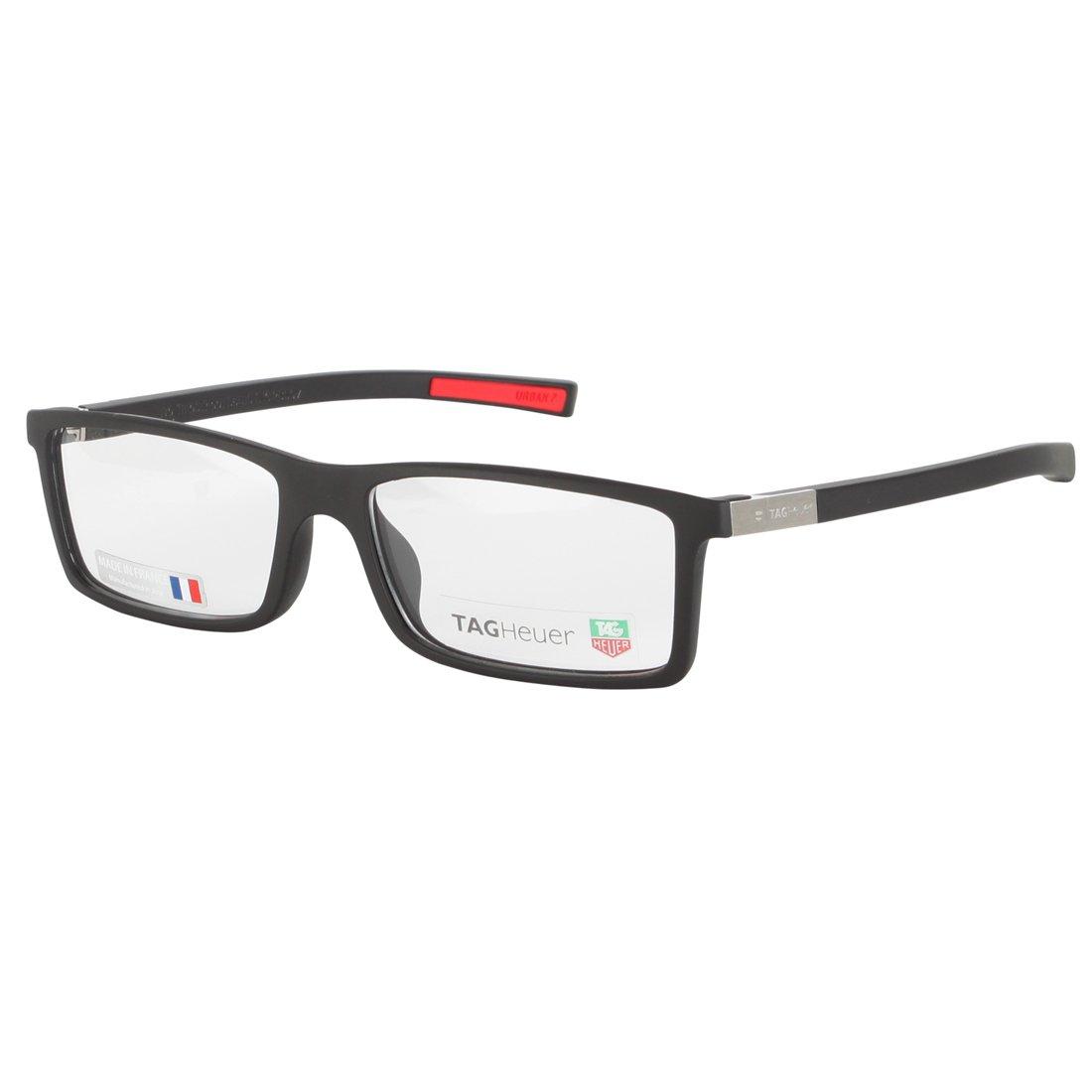 Straight Temple Glasses Frame : TAG Heuer Mens 0512 001 Urban 7 Full Frame Designers ...