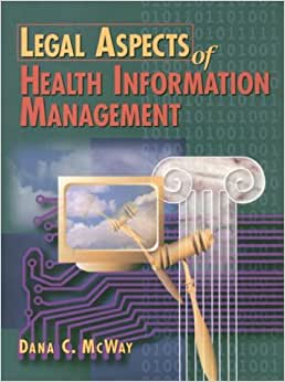legal aspects of health management Coupon: rent legal aspects of health care administration 12th edition ( 9781284065923) and save up to 80% on textbook rentals and 90% on used  textbooks.