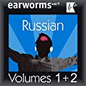 Rapid Russian: Volumes 1 & 2 Audiobook by  earworms Learning Narrated by Marlon Lodge