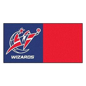 FANMATS NBA Washington Wizards Nylon Face Team Carpet Tiles by Fanmats