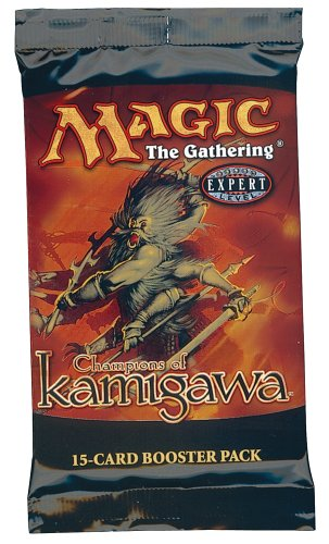 1 (One) Pack of Magic the Gathering MTG Champions of Kamigawa Booster Pack (15 Cards/Pack) Out of Print (Mtg Champion Of Kamigawa Cards compare prices)