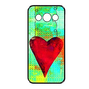 Vibhar printed case back cover for Samsung Galaxy Core WireHeart