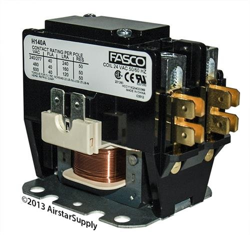 Weatherking • 40 Amp 1 Pole 24v Coil Fasco Replacement Contactor H140A