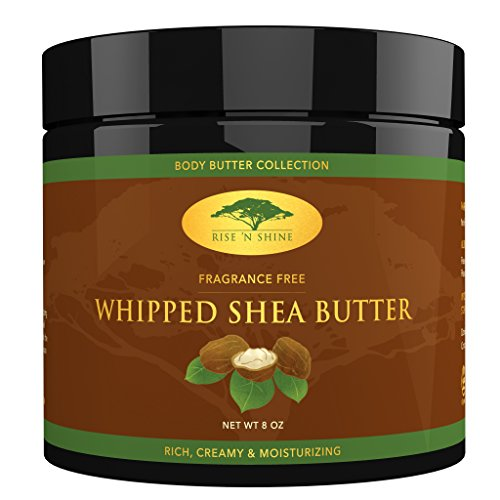 Rise 'N Shine Whipped African Shea Butter Cream, 8 oz (Organic Shea Butter Cream compare prices)