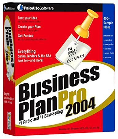Business Plan Pro 2004 [Old Version]