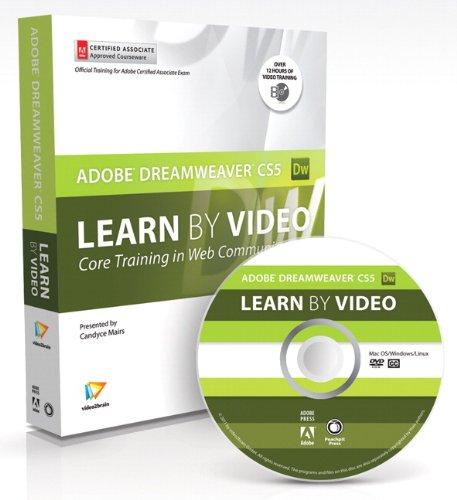 Learn Adobe Dreamweaver CS5 by Video 0321719816 pdf