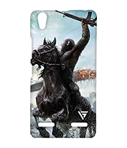 Vogueshell Rise Of Planet Apes Printed Symmetry PRO Series Hard Back Case for Lenovo A6000