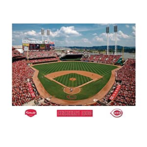 Buy MLB Cincinnati Reds Inside Great American Ball Park Mural Wall Graphic by Fathead