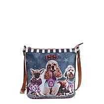Nicole Lee Cross Body Bag, Dog Family, One Size