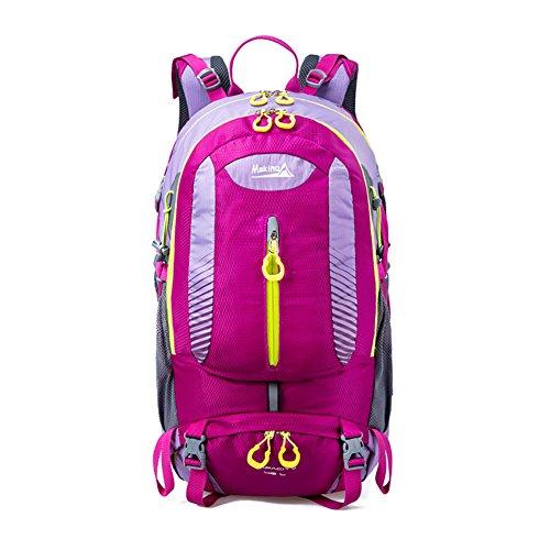 escalade extérieur épaules sac à dos / sac Voyage-violet 40L
