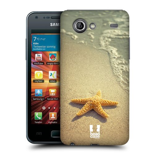 Head Case Designs Starfish By The Shore Famous Animals Protective Snap-on Hard Back Case Cover for Samsung Galaxy S Advance I9070