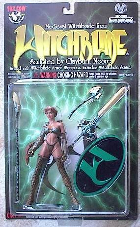Medieval WITCHBLADE Japanese Exclusive Emerald Variant - 1