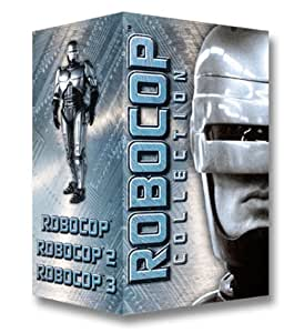 amazoncom robocop collection vhs robert john burke