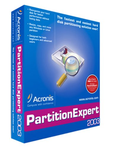 Acronis Partitionexpert 2003