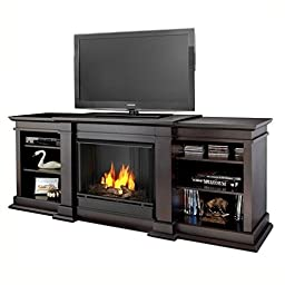 Real Flame Fresno Entertainment Ventless Gel Fireplace