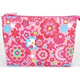 Tuc Tuc Little Baby Girl Couture Toiletry Travel Bag. Chip Chip Collection. Print. 9.5