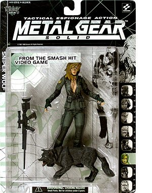 Picture of McFarlane 1999 Metal Gear Solid Action Figure - Sniper Wolf (B000WEPUKE) (McFarlane Action Figures)