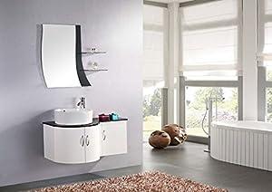 Meuble de salle de bain design en promo jardin - Amazon meuble salle de bain ...