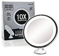 Daylight LED 10X Magnifying Makeup Mi…