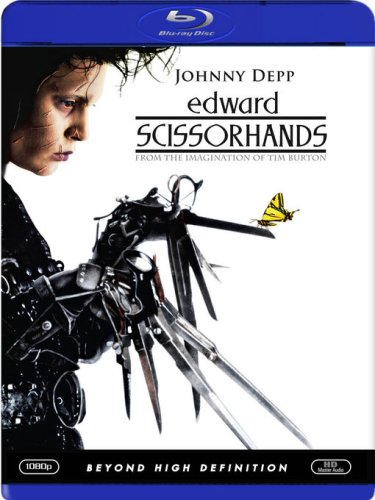 Cover art for  Edward Scissorhands [Blu-ray]