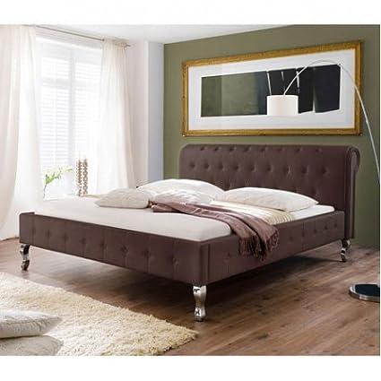 "Betten Komplettset ""Barock"" (180x200, Braun)"